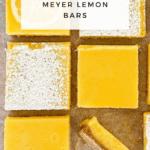 Ginger Meyer Lemon Bars