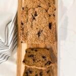 Healthier Gluten Free Blueberry Banana Bread