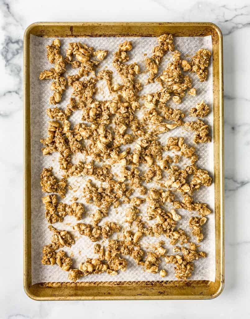 Cashew Cookie Granola