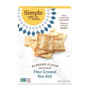 Simple Mills Almond Flour Crackers, Fine Ground Sea Salt