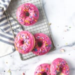 Baked Gluten Free Cake Mix Donuts
