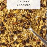 Healthy Chunky Granola