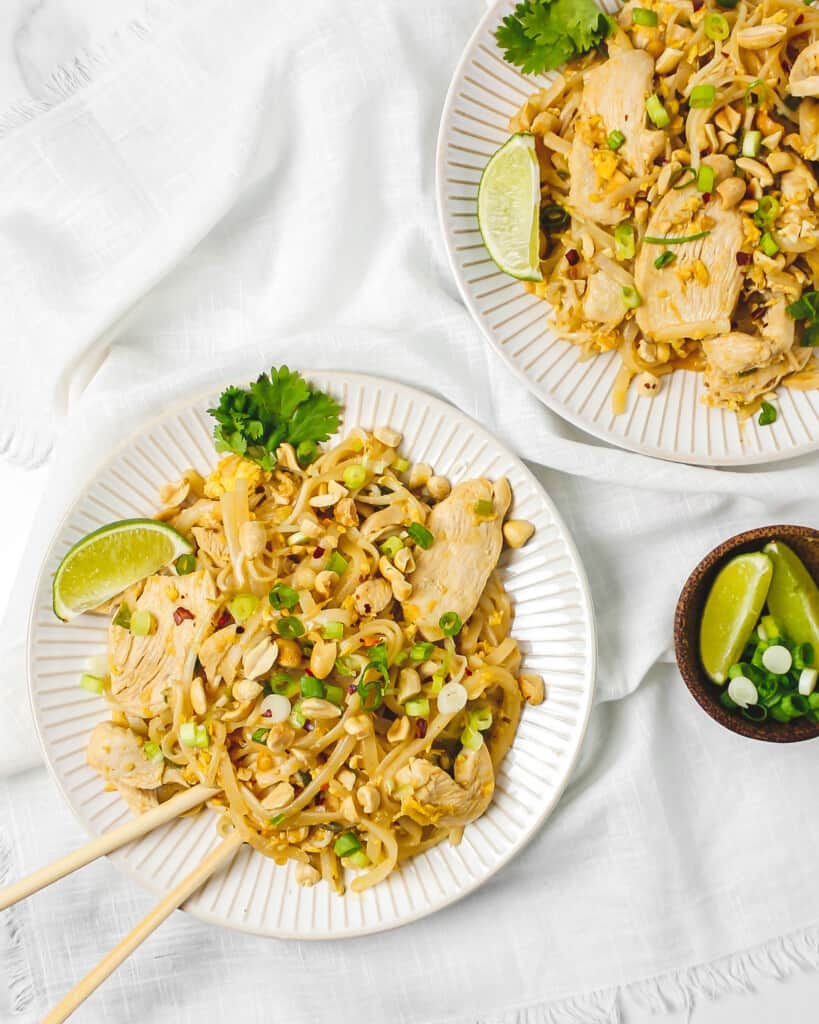 Better Than Takeout Chicken Pad Thai