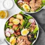 Tuna Nicoise Salad with Caper Vinaigrette