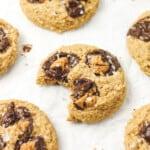 Grain Free Peanut Butter Cup Cookies