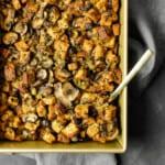 Gluten Free Cremini Mushroom & Fresh Herb Stuffing