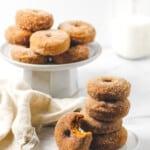 Gluten Free Baked Cinnamon Sugar Pumpkin Spice Donuts