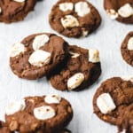 Double Chocolate Marshmallow Cookies