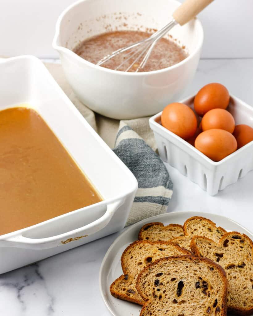 Cinnamon Raisin French Toast Bake