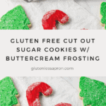 Gluten Free Cut Out Sugar Cookies With Buttercream Frosting