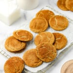 Gluten Free Brown Butter Snickerdoodles