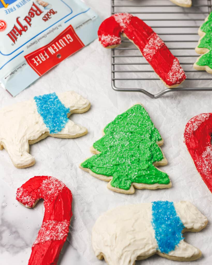 Cut Out Sugar Cookies with Vanilla Buttercream