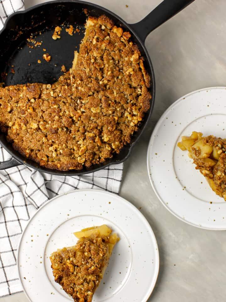Skillet Dutch Apple Pie