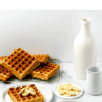 Gluten Free Greek Yogurt Banana Waffles