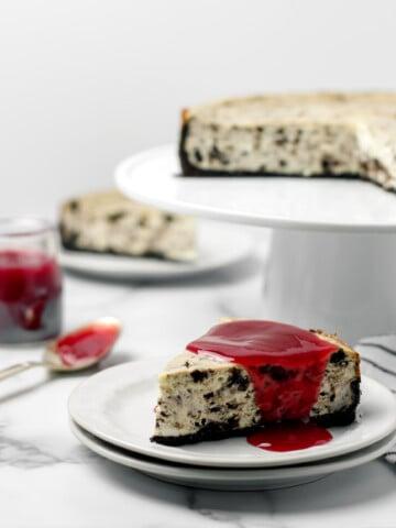 Oreo Cookie Cheesecake