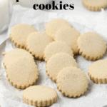 Gluten Free Spanish Almond Cookies (Polvorones de Almendra)