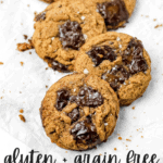 Grain Free Almond Butter Chocolate Caramel Cookies