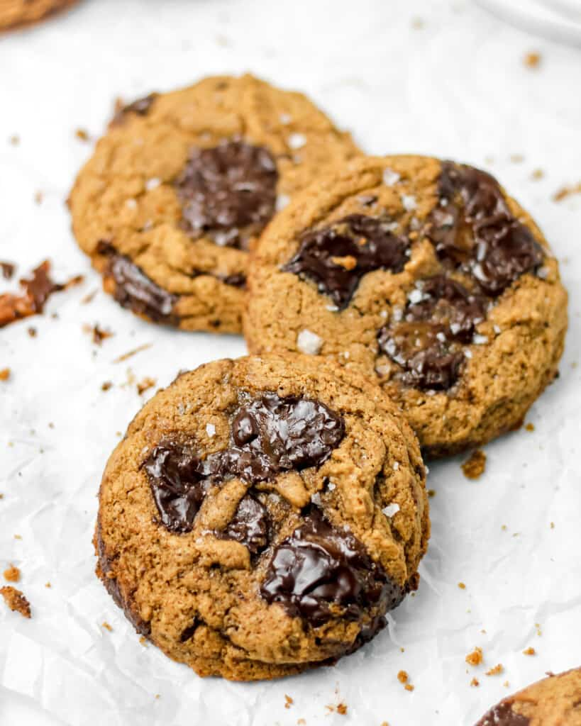 Grain FrGrain Free Almond Butter Chocolate Caramel Cookiesee Almond Butter Chocolate Caramel Cookies