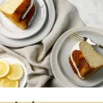 Gluten Free Lemon Bundt Cake with Lemon Cream Cheese Frosting