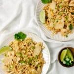 Better Than Takeout Chicken Pad Thai (Gluten Free)