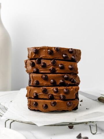 Healthy Gluten Free Double Chocolate Zucchini Bread